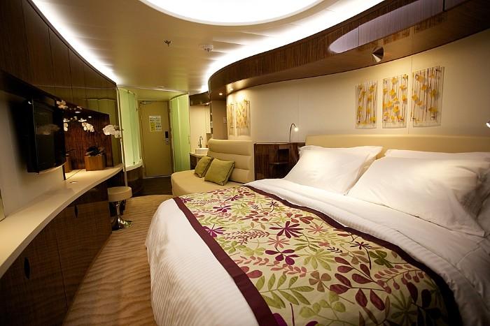 Spa deluxe balkonkabine foto norwegian cruise line